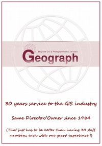 Geograph celebrates 25 years of Service